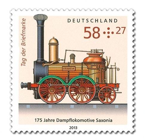 Dampflokomotive Saxonia