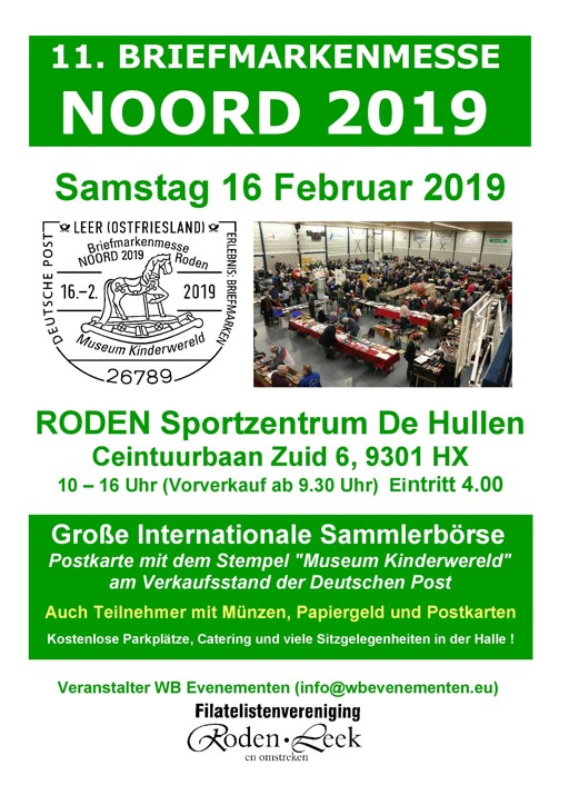 Nordwestdeutscher Philatelistenverband Ev Briefmarkenmesse Noord